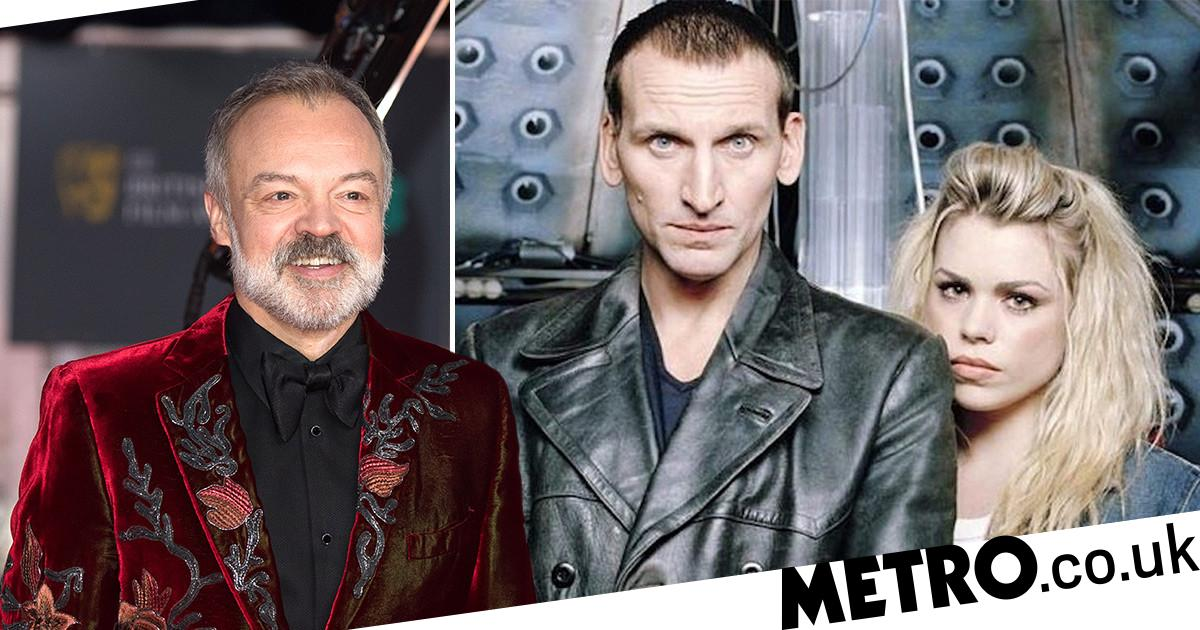 Doctor Who showrunner recreates epic Graham Norton glitch in live-tweets