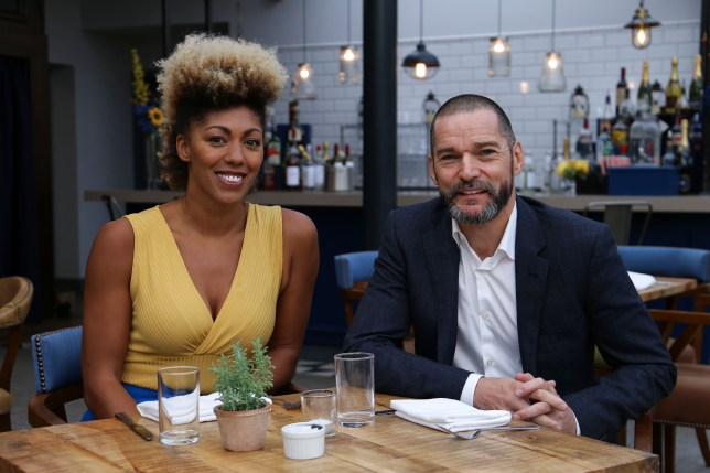 Fred Sirieix and Zoe Williams