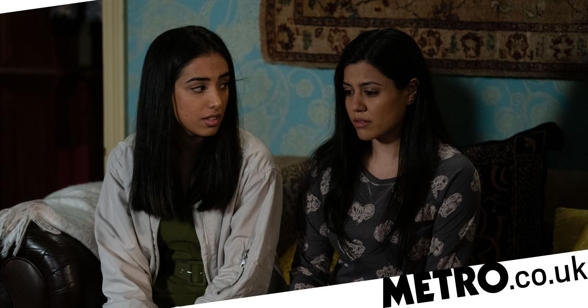 Spoilers: Ash's dark side revealed to a shocked Iqra in EastEnders