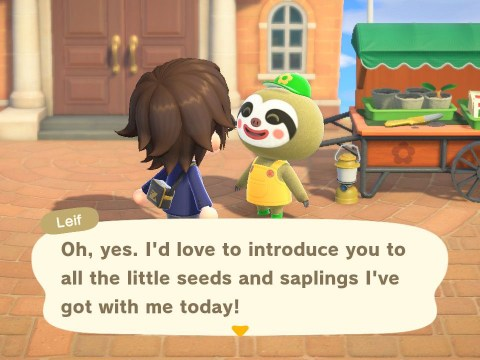 Animal Crossing: New Horizons Nature Day update is live now with shrubs and an art gallery