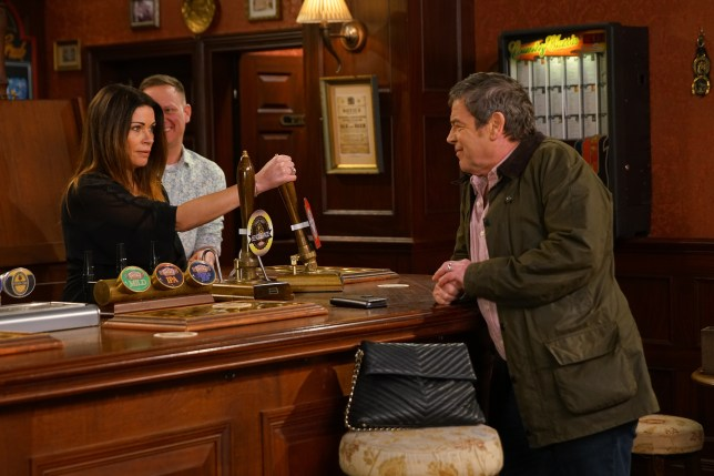 Carla, Johnny and Sean in Coronation Street