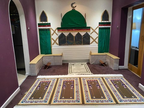 Muslim family unable to visit mosque during Ramadan build one in their home