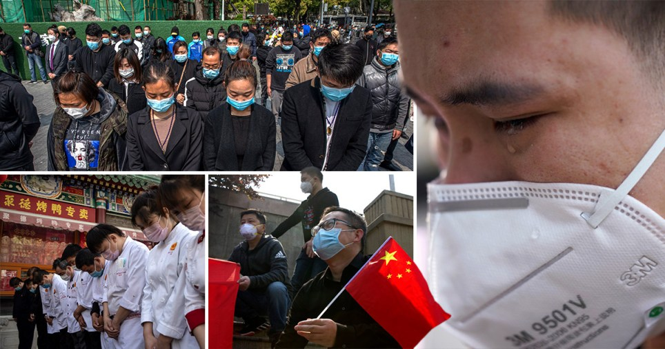 China: national day of mourning