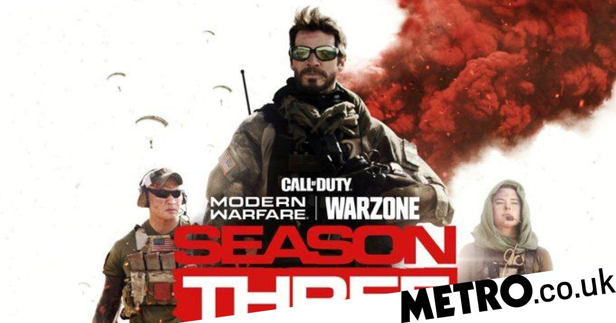 Call Of Duty Modern Warfare and Warzone Season 3 promo leaks, double XP extended