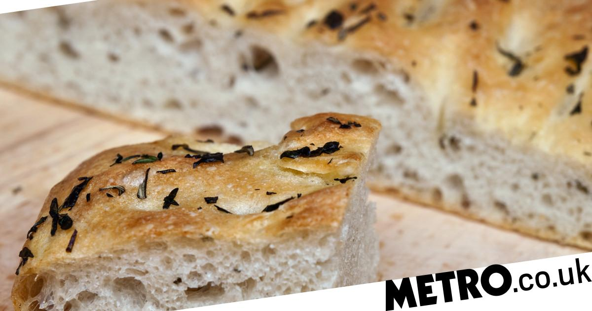Bake focaccia bread at home with this easy recipe from Bread Ahead