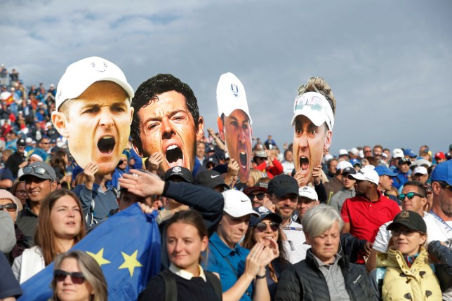 Europe captain Padraig Harrington says he and USA counterpart Steve Stricker are not in favour of the Ryder Cup being played behind closed doors.