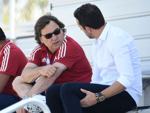 Raul Sanllehi tells Arsenal there will be no big-money signings in the next transfer window