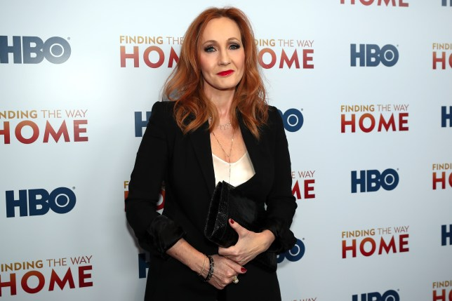 NEW YORK, USA - DECEMBER 11 : Author J.K Rowling attends HBO's 'Finding The Way Home' World Premiere at Hudson Yards in New York, United States on December 11, 2019. (Photo by Tayfun Coskun/Anadolu Agency via Getty Images)
