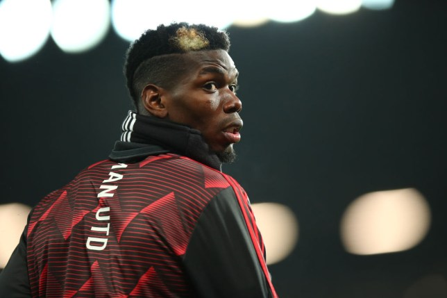 Paul Pogba has been out of action with an ankle injury since Boxing Day
