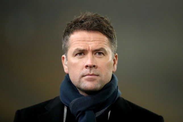 WOLVERHAMPTON, ENGLAND - DECEMBER 27: Michael Owen working as a pundit for Amazon Prime during the Premier League match between Wolverhampton Wanderers and Manchester City at Molineux on December 27, 2019 in Wolverhampton, United Kingdom. (Photo by Marc Atkins/Getty Images)