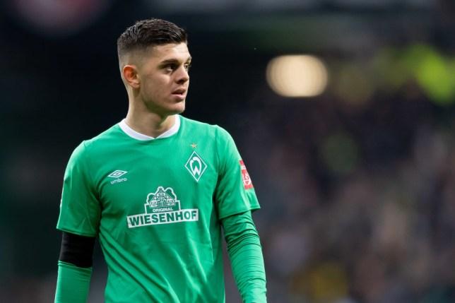 Liverpool transfer target Milot Rashica during Werder Bremen's Bundesliga clash with Borussia Dortmund