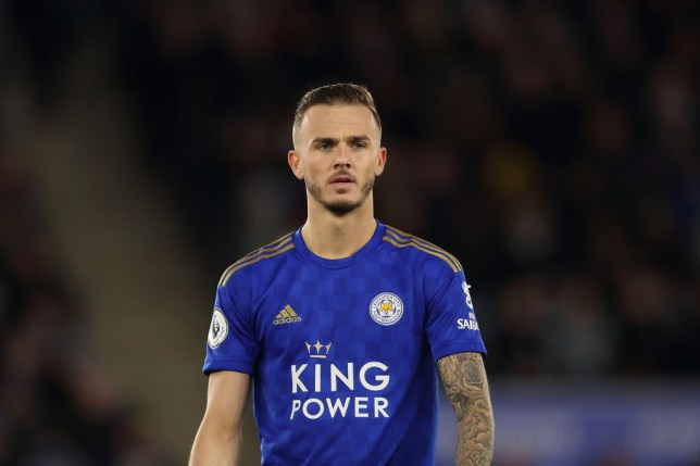 LEICESTER, ENGLAND - MARCH 09: James Maddison of Leicester City during the Premier League match between Leicester City and Aston Villa at The King Power Stadium on March 9, 2020 in Leicester, United Kingdom. (Photo by James Williamson - AMA/Getty Images)