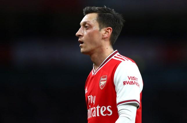 Mesut Ozil of Arsenal
