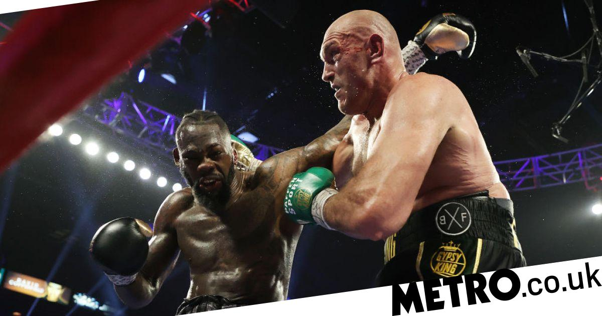Tyson Fury reacts to Deontay Wilder insisting on triggering rematch clause