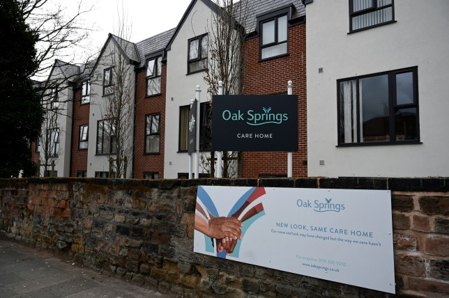 A general view of the Oak Spring care home in Wavetree, Liverpool.