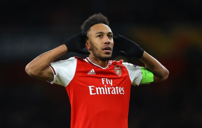 Pierre-Emerick Aubameyang has been heavily linked with a move away from Arsenal