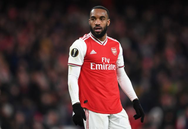 Alexandre Lacazette has been heavily linked with a move to Atletico Madrid (Picture: Getty)