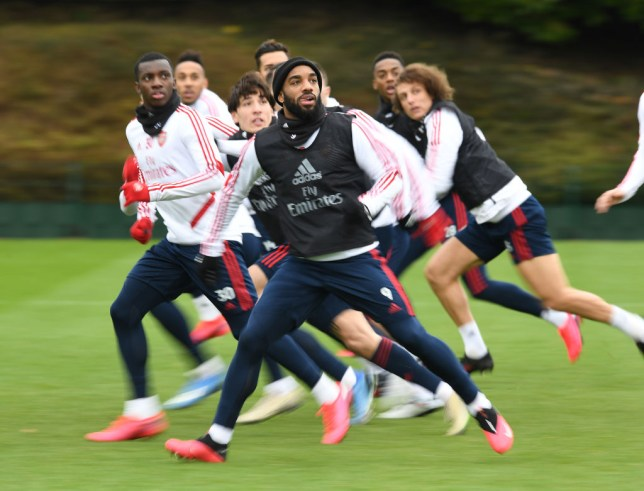 arsenal players will be allowed back to