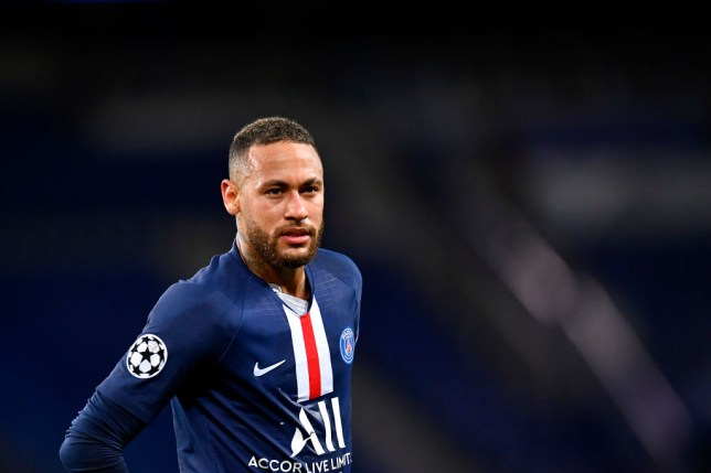 Former Chelsea transfer target Neymar during PSG's Champions League clash with Borussia Dortmund