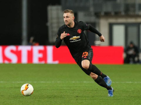 Luke Shaw thanks Zlatan Ibrahimovic and Paul Pogba for pushing him at Manchester United