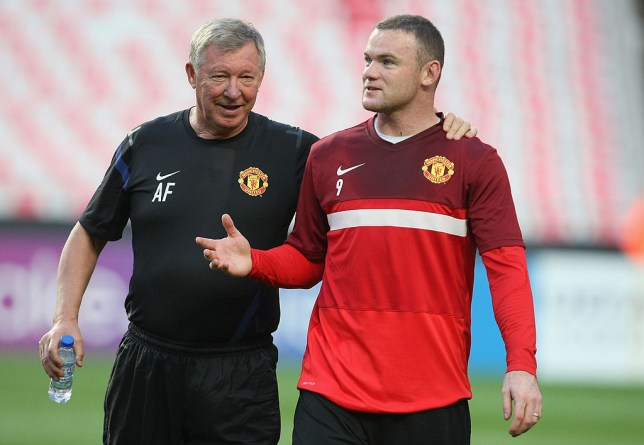 Sir Alex Ferguson asked Wayne Rooney to change his game when playing as a No.9 for Manchester United