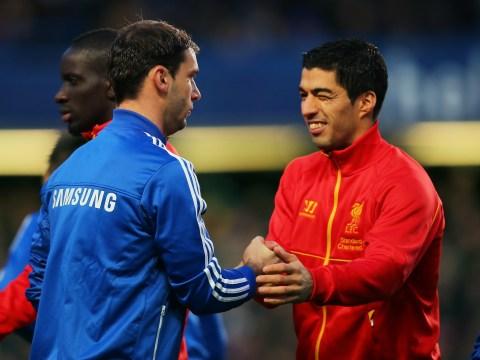 Jamie Carragher reveals Luis Suarez denied biting Branislav Ivanovic to Liverpool squad after infamous Chelsea clash