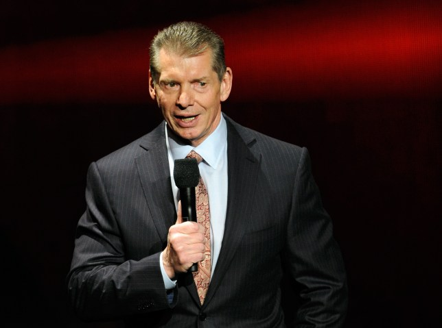 LAS VEGAS, NV - JANUARY 08: WWE Chairman and CEO Vince McMahon speaks at a news conference announcing the WWE Network at the 2014 International CES at the Encore Theater at Wynn Las Vegas on January 8, 2014 in Las Vegas, Nevada. The network will launch on February 24, 2014 as the first-ever 24/7 streaming network, offering both scheduled programs and video on demand. The USD 9.99 per month subscription will include access to all 12 live WWE pay-per-view events each year. CES, the world's largest annual consumer technology trade show, runs through January 10 and is expected to feature 3,200 exhibitors showing off their latest products and services to about 150,000 attendees. (Photo by Ethan Miller/Getty Images)