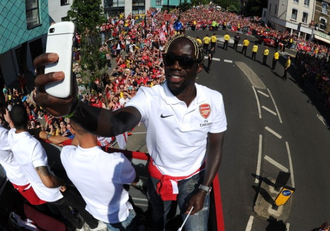 Bacary Sagna remains dismayed at the way his former club Arsenal is being run