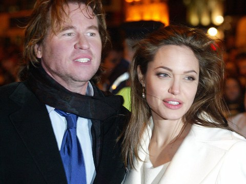 Val Kilmer 'couldn't wait' to kiss Angelina Jolie and 'buy her a jet' before she fell for Brad Pitt