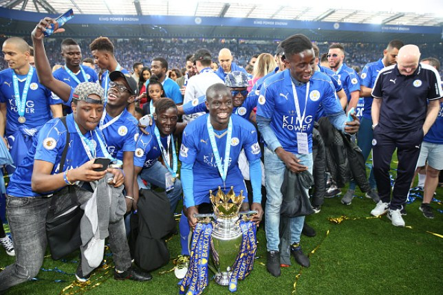 N'Golo Kante played a key role in Leicester City's 2016 Premier League title success