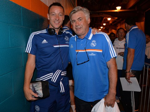 John Terry reveals how Chelsea stars reacted to Carlo Ancelotti's shock sacking on team bus