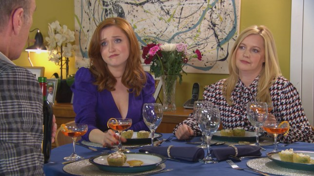 Verity, Diane and Edward in Hollyoaks