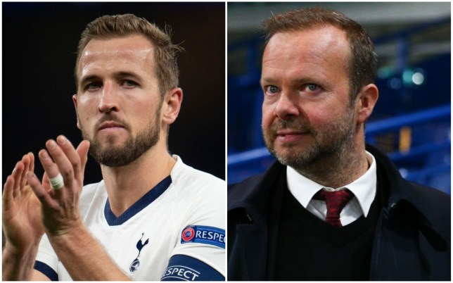 Manchester United chief Ed Woodward his a huge admirer of Tottenham striker Harry Kane