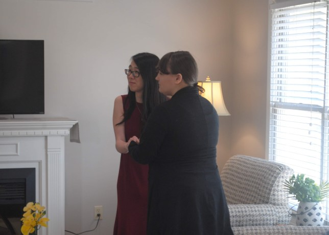 Autumn and Alyssa getting married