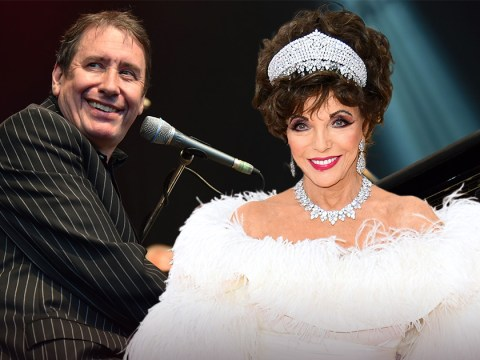 You can bid for lunch with Joan Collins or drinks with Jools Holland in NHS fundraising auction