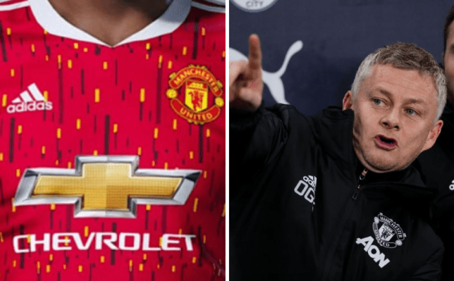 Barcelona Accidentally Leak New Man Utd Home Kit For 2020 21 Season Metro News