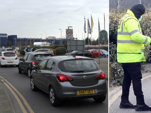 NHS workers queue in cars to get into Ikea for coronavirus tests