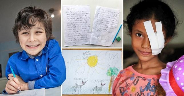 British boy and Yemeni girl pictures