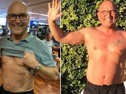 Gregg Wallace hits goal weight after losing four stone as he shares gruelling lockdown workouts