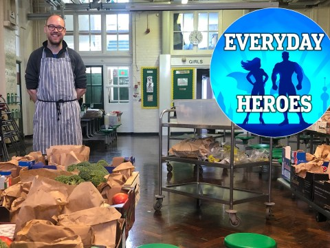 I hope that by helping to prepare school meals, I'm giving families one less thing to worry about