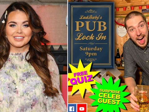 Ladbaby teaming up with Scarlett Moffatt to get us through lockdown with I'm A Celeb themed pub lock-in
