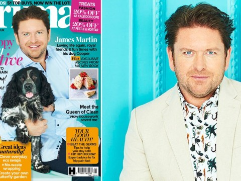 James Martin stopped an elderly man from being mugged at cashpoint