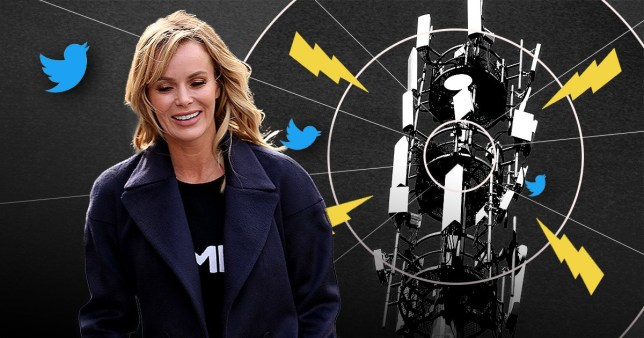 Amanda Holden \'accidentally tweeted 5G petition link\' after conspiracy theorists connect it to coronavirus