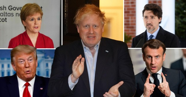 Boris Johnson was admitted to intensive care  this evening (Picture: Reuters)