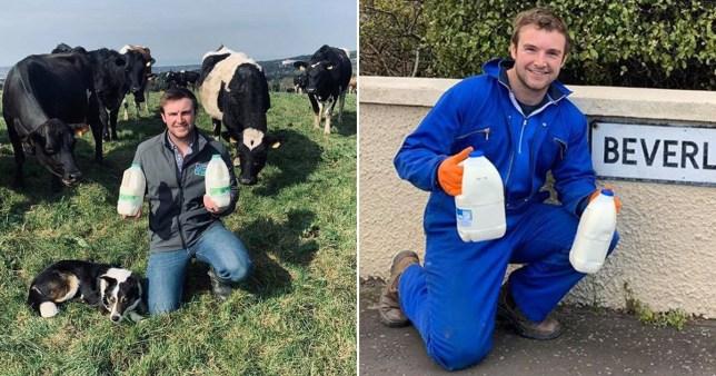 farmer vegan milk