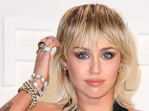 Miley Cyrus FaceTimed her hairdresser while cutting her own locks in quarantine after fringe disaster