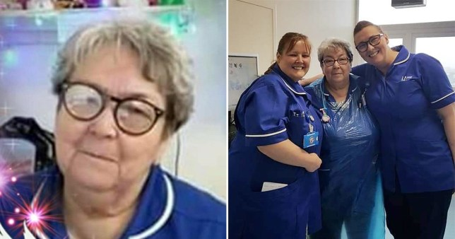Liz Glanister, 68, who worked at Aintree University Hospital in Liverpool, passed away on Friday after testing positive for Covid-19.