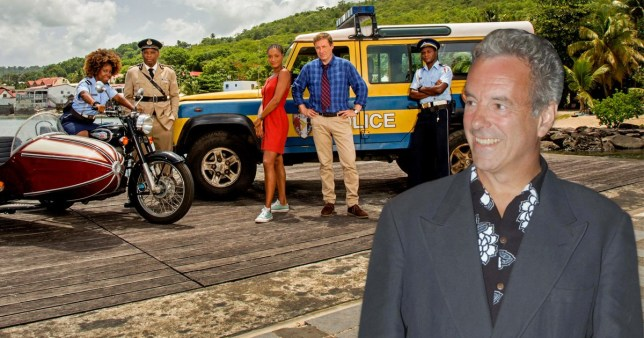 Death in paradise pay tribute to Jay Benedict
