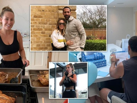 Inside Kate and Rio Ferdinand's huge family home complete with fancy high-tech gym where they're self-isolating