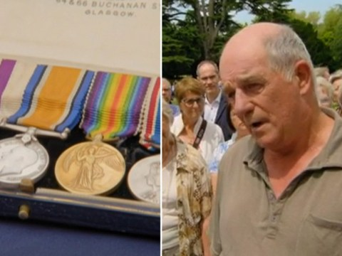 Antiques Roadshow guest gutted as grandfather's war medals just miss out on £250,000 valuation